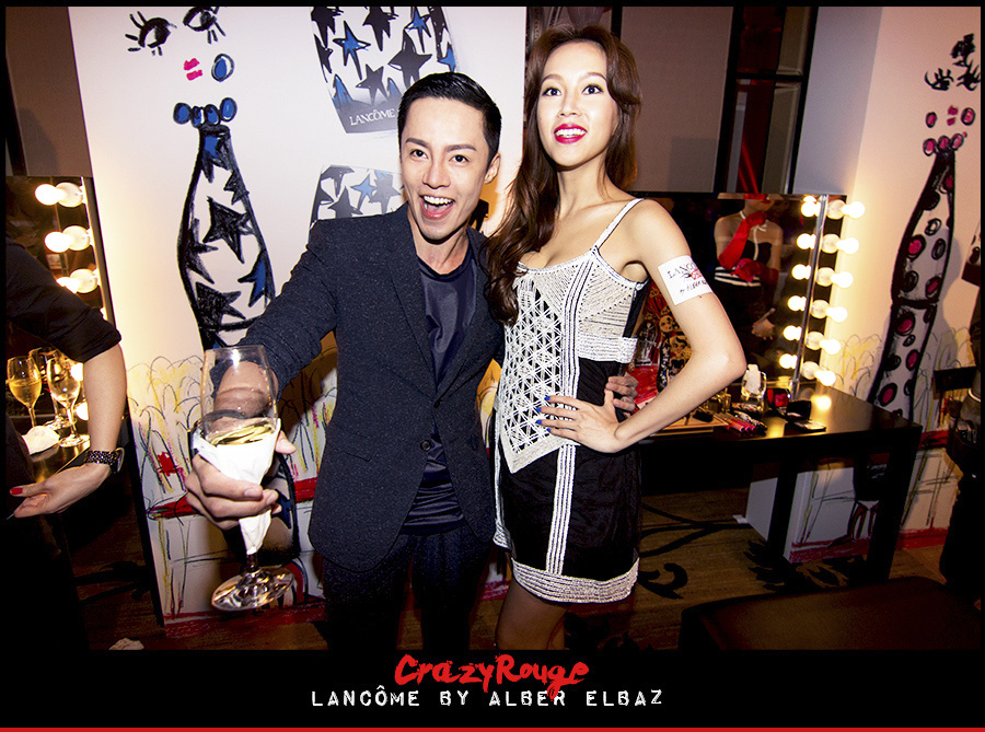 5.Alvin Goh, Kelly Fu, CrazyRouge, CrazyRougelife, Lancôme show x Alber Elbaz, Lancôme, Make-up, CrazyRougeHongKong