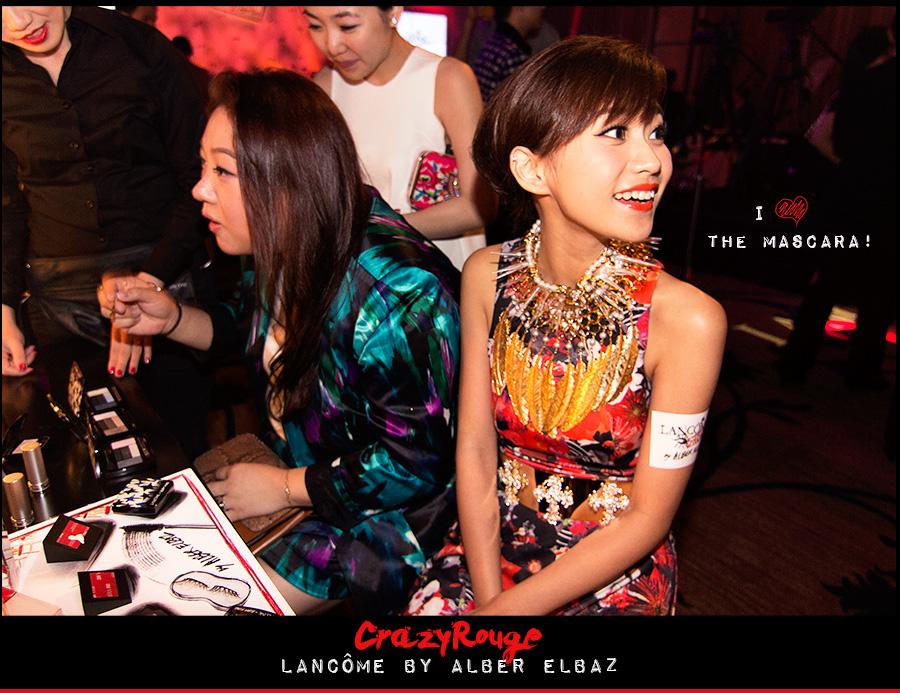 8.Miki Yeung, CrazyRouge, CrazyRougelife, Lancôme show x Alber Elbaz, Lancôme, Make-up, CrazyRougeHongKong