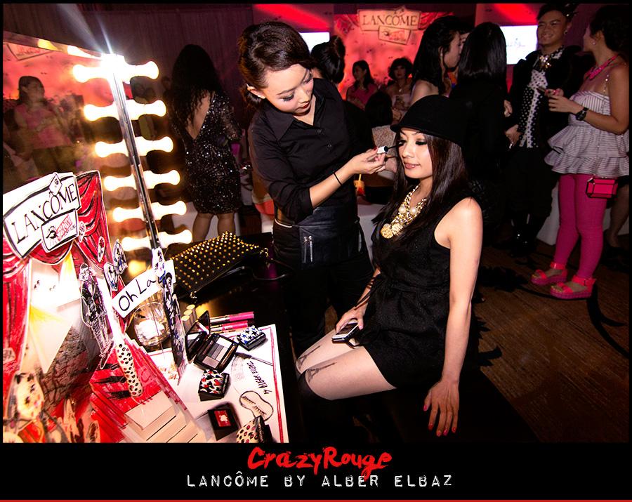 9.CrazyRouge, CrazyRougelife, Lancôme show x Alber Elbaz, Lancôme, Make-up, CrazyRougeHongKong
