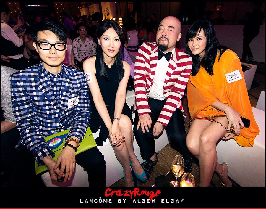 11.Ricky Kwok, Anna Yan, Wyman Wong, Janet Ma, CrazyRouge, CrazyRougelife, Lancôme show x Alber Elbaz, Lancôme, Make-up, CrazyRougeHongKong