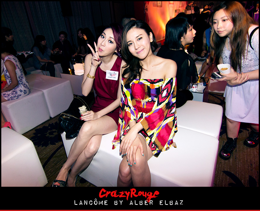 12.Jacqueline Ch'ng, Ava Liu, CrazyRouge, CrazyRougelife, Lancôme show x Alber Elbaz, Lancôme, Make-up, CrazyRougeHongKong