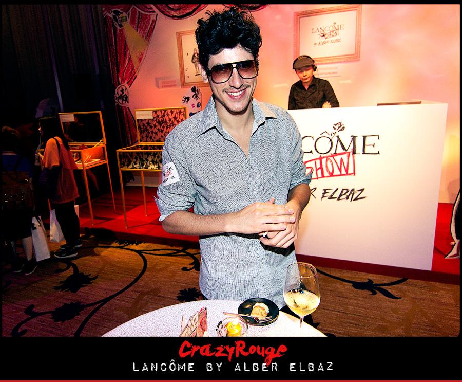 18.Alberto Imperial, CrazyRouge, CrazyRougelife, Lancôme show x Alber Elbaz, Lancôme, Make-up, CrazyRougeHongKong