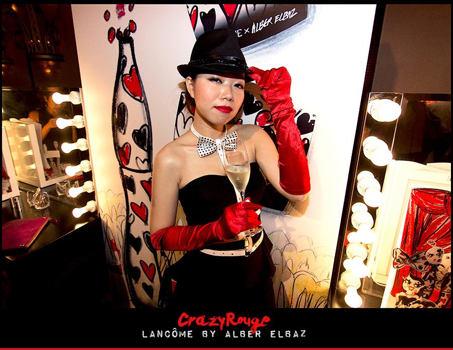 22.CrazyRouge, CrazyRougelife, Lancôme show x Alber Elbaz, Lancôme, Make-up, CrazyRougeHongKong