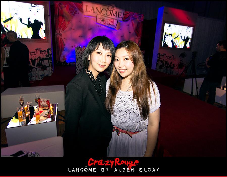 Christy Lam, Gloria Tang, CrazyRouge, CrazyRougelife, Lancôme show x Alber Elbaz, Lancôme, Make-up, CrazyRougeHongKong