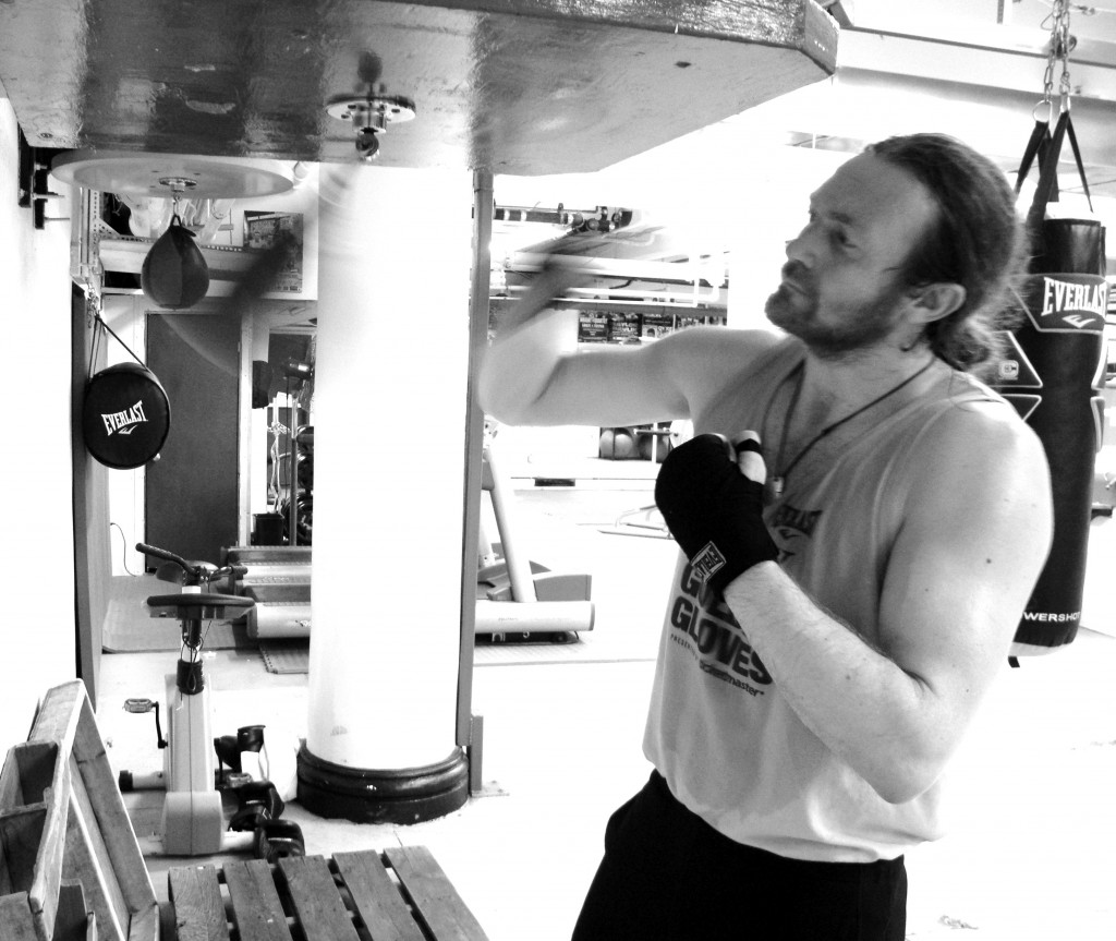 James Huddleston restaurateur boxer golden gloves NYC English