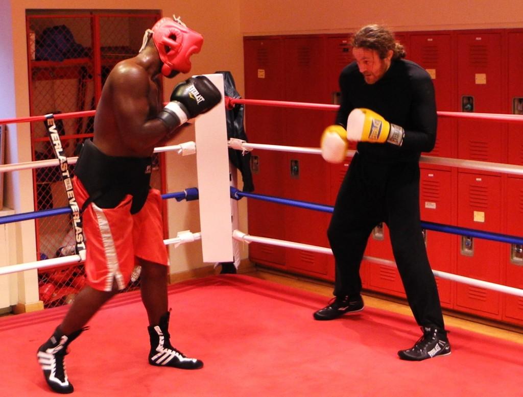 James Huddleston restaurateur boxer golden gloves New York