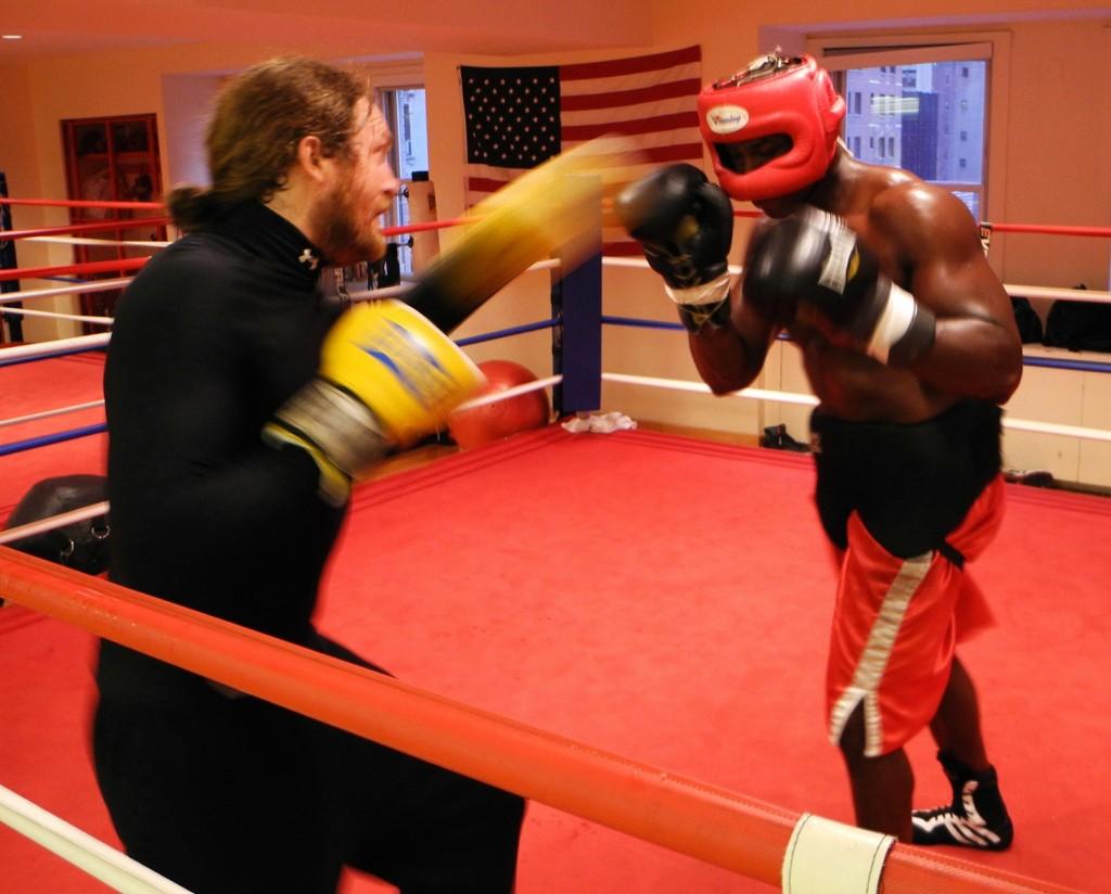 James Huddleston restaurateur boxer golden gloves Pravda New York