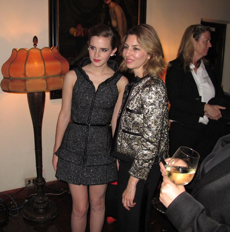 Emma Watson, Sofia Coppola, The Bling Ring premiere after party