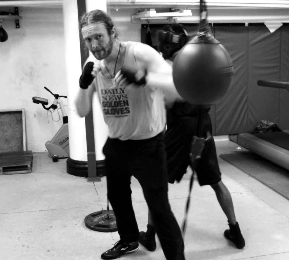 James Huddleston restaurateur boxer golden gloves NYC English Pravda