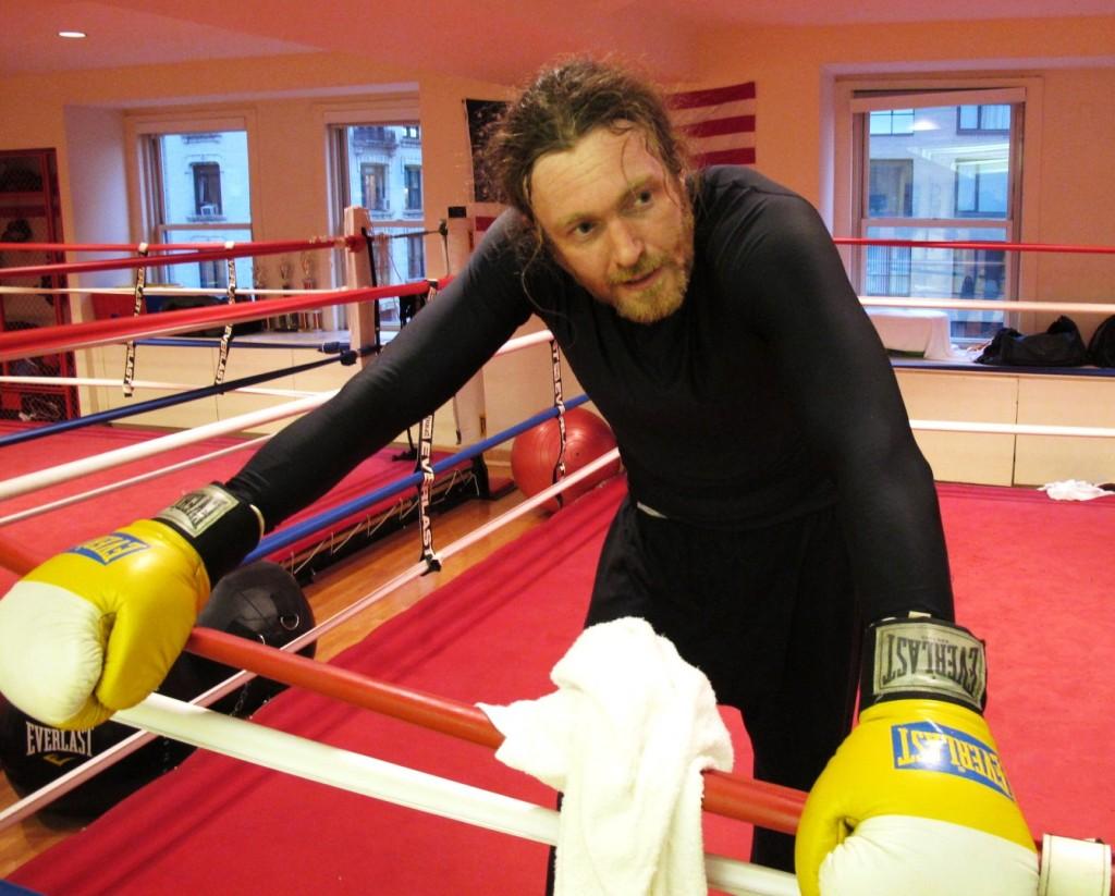 James Huddleston restaurateur boxer golden gloves New York Pravda