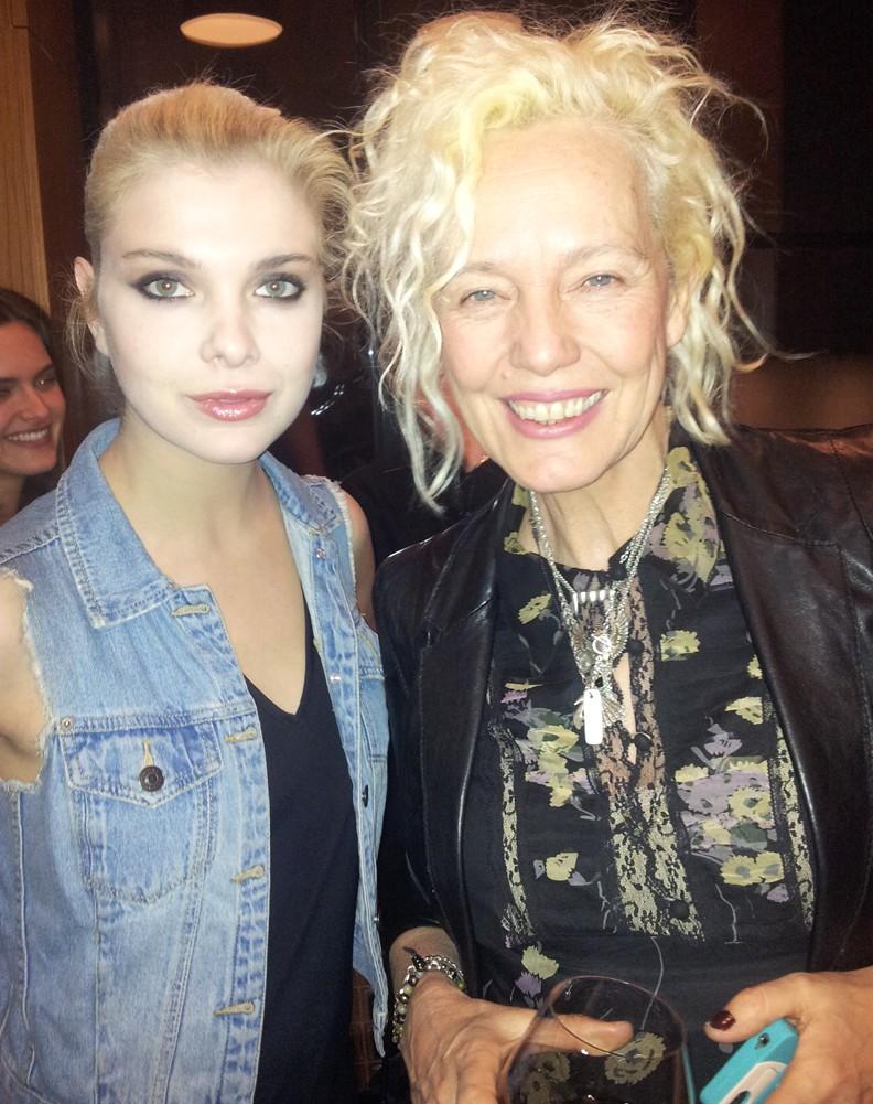 Alessandra Pozzi  + Ellen Von Unwerth