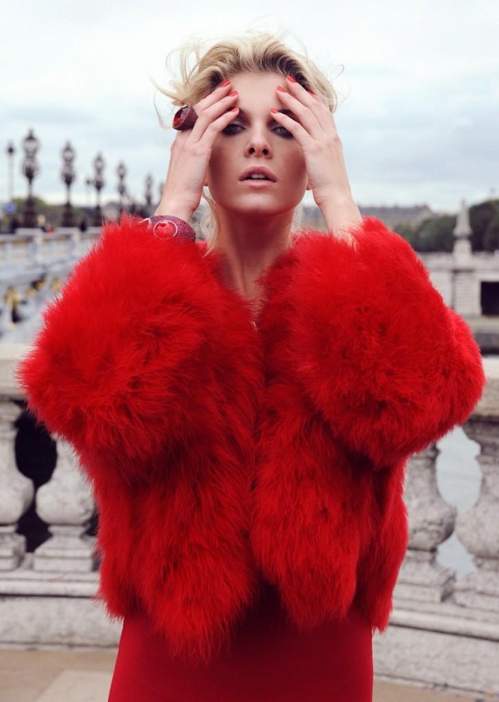 Alessandra Pozzi high fashion model