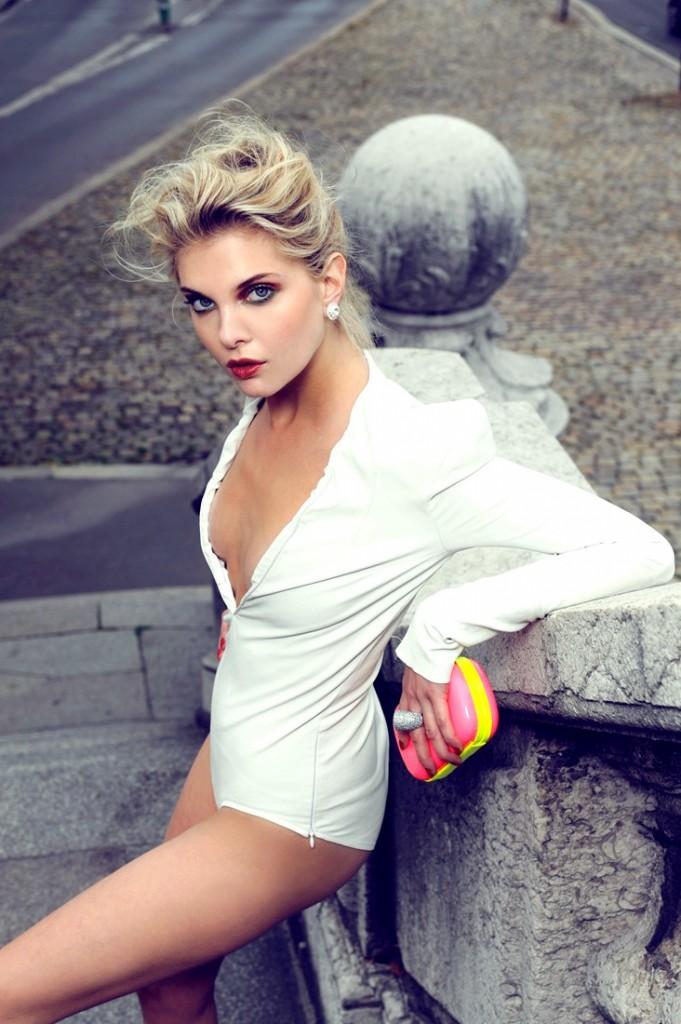 Alessandra Pozzi Paris France top model white