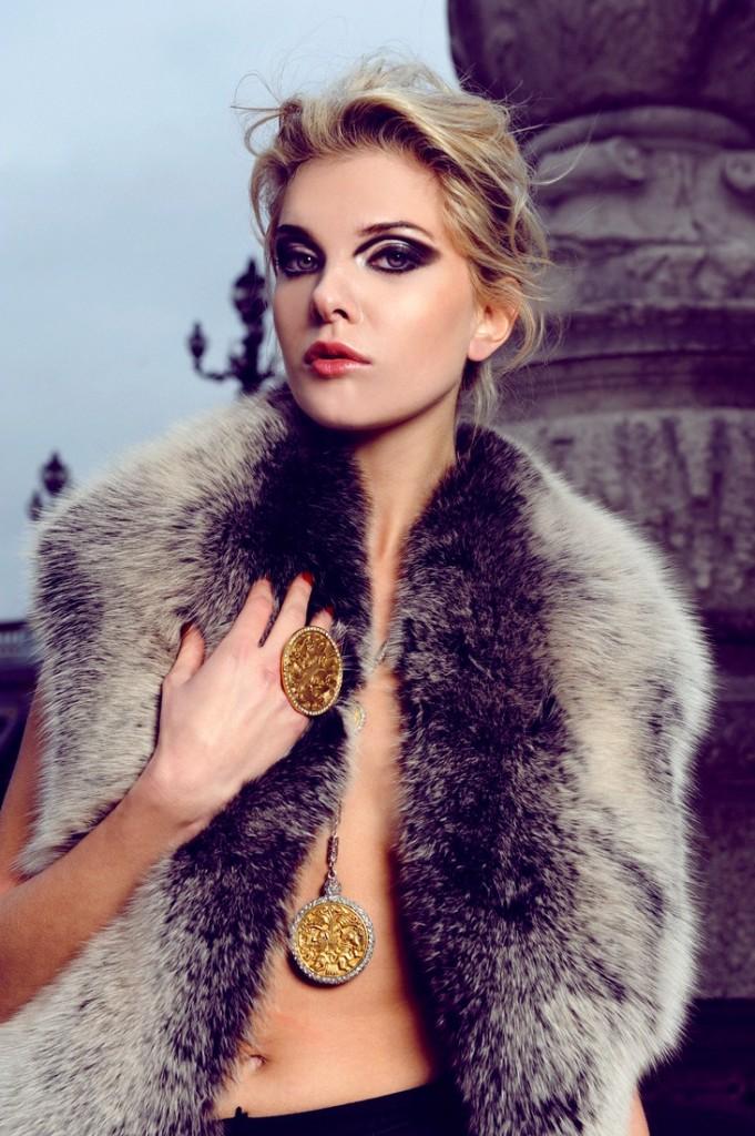 Alessandra Pozzi + Paris + high + fashion + model