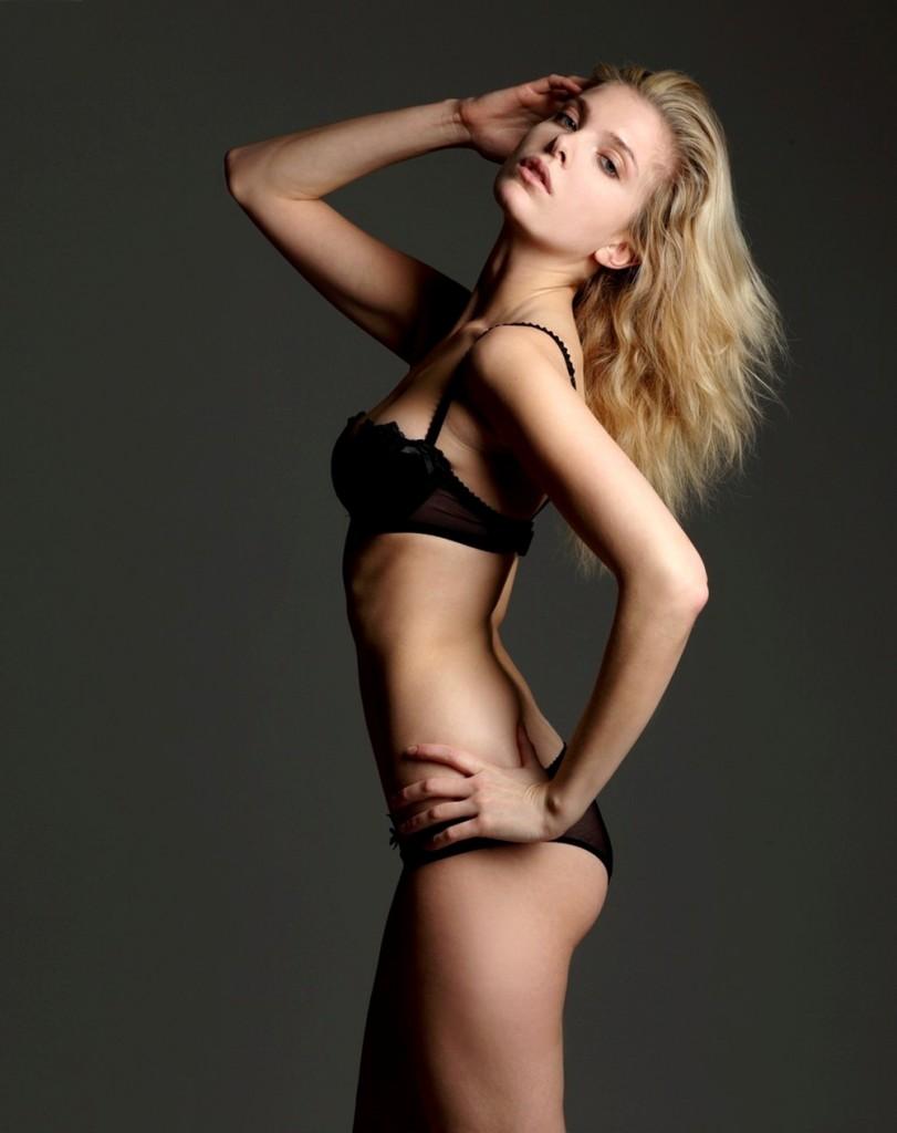 Alessandra Pozzi + lingerie + fashion + new york