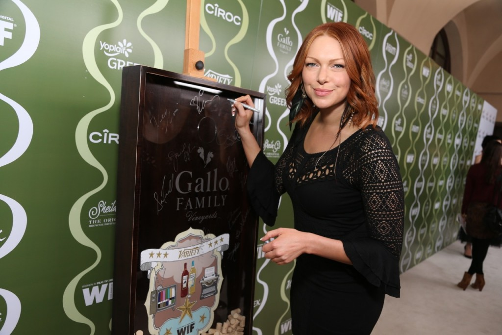 Laura Prepon Celebrates TV  Families with Gallo Family Vineyards on the Red Carpet at the Variety Women  in Film Pre-Emmy Party