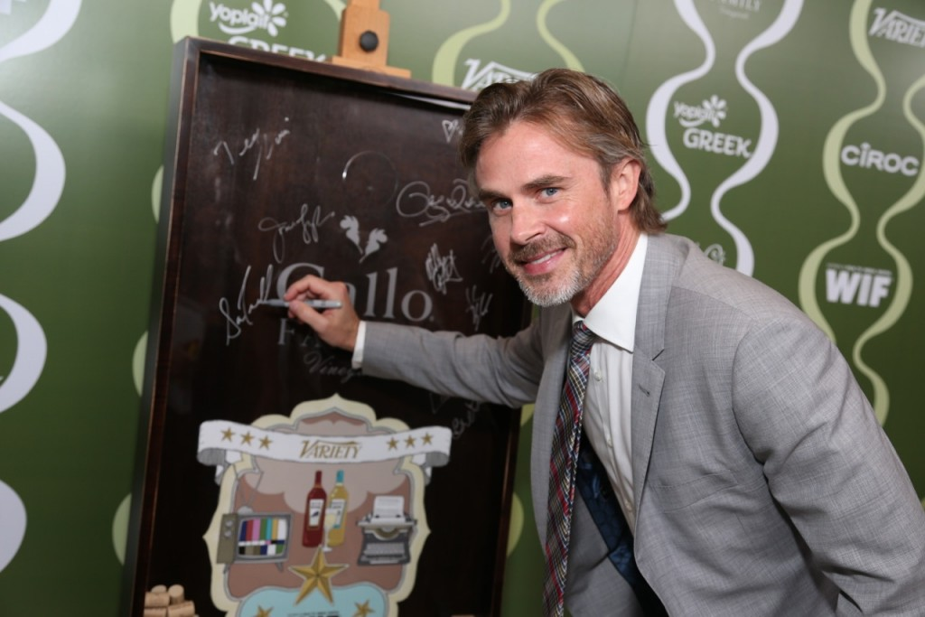 Sam Trammell Celebrates TV  Families with Gallo Family Vineyards on the Red Carpet at the Variety Women  in Film Pre-Emmy Party