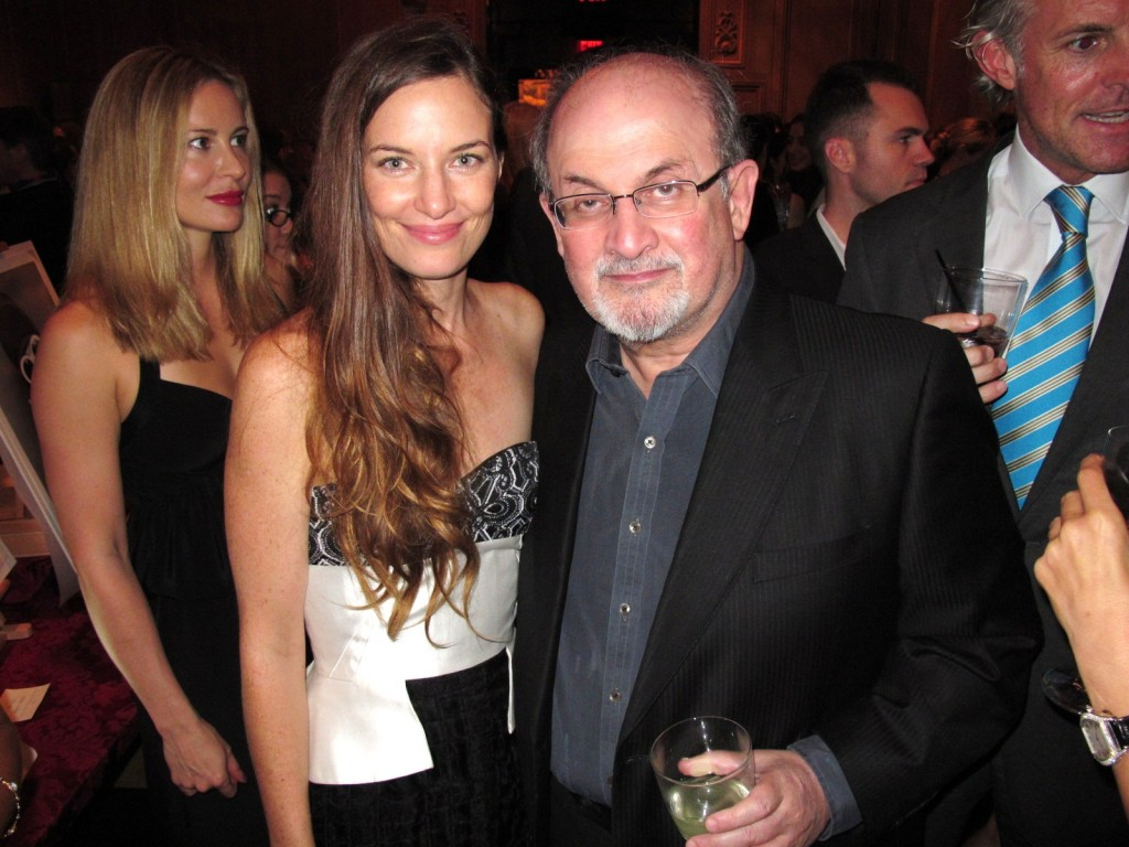 Topaz Page-Green, Salman Rushdie, The Lunchbox Fund hosts Fall Fete 2013