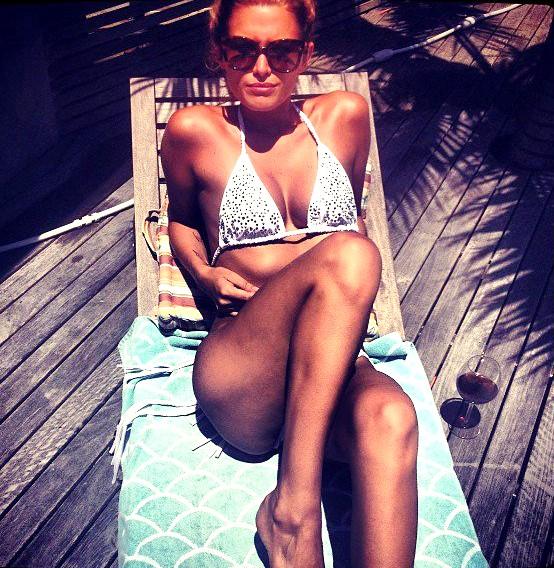 Cheyenne Tozzi casual bikini model supermodel