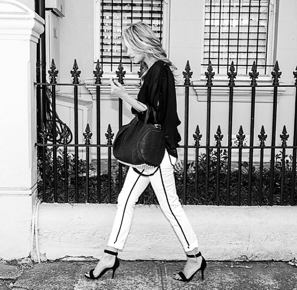 Cheyenne Tozzi fashion model street scene 2