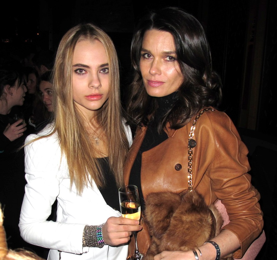 Victoria's Secret + After Party + Lidia Vidrenko + Larissa Bond