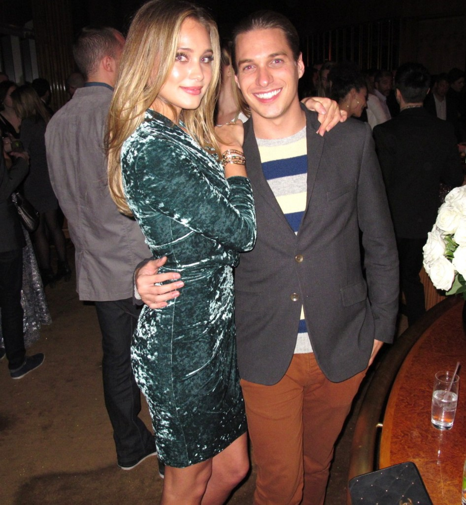 Hanna Davis + Hunger Games + Catching Fire + premiere + party