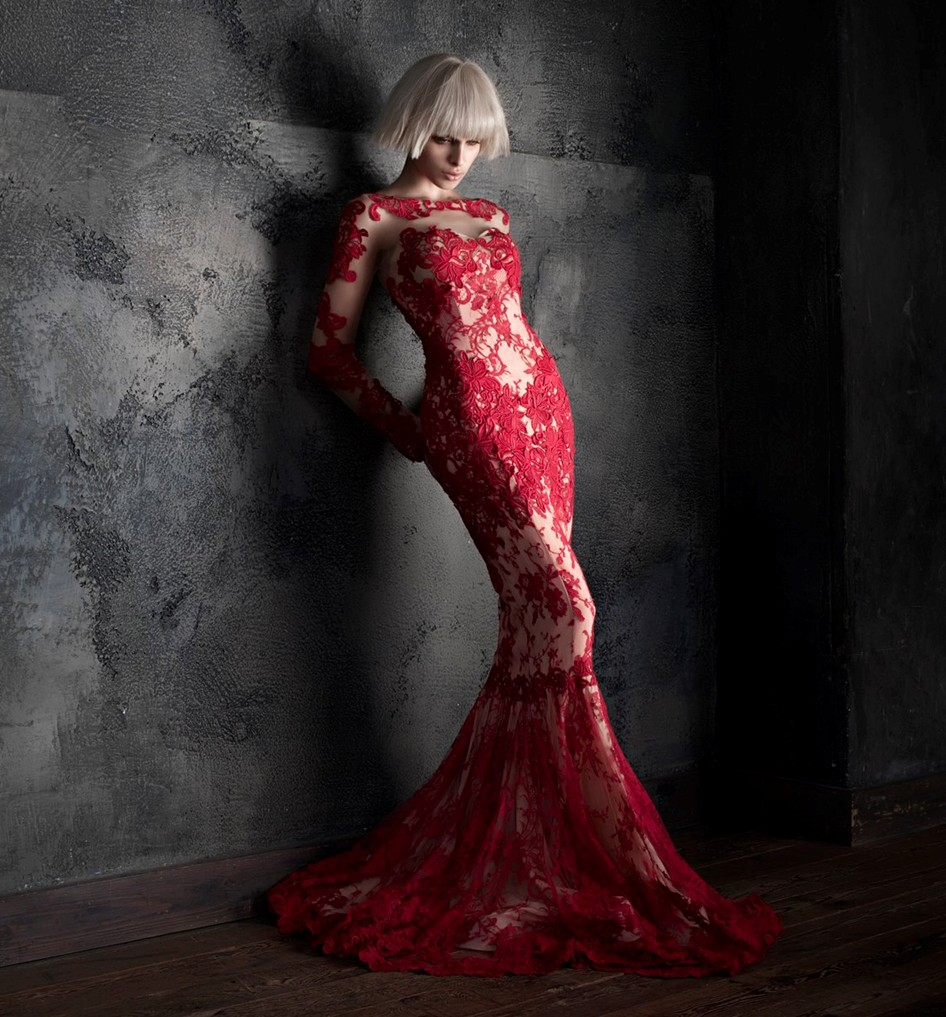Anna Maria Olbrycht model fashion campaign