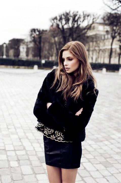 Anna Maria Olbrycht fashion model