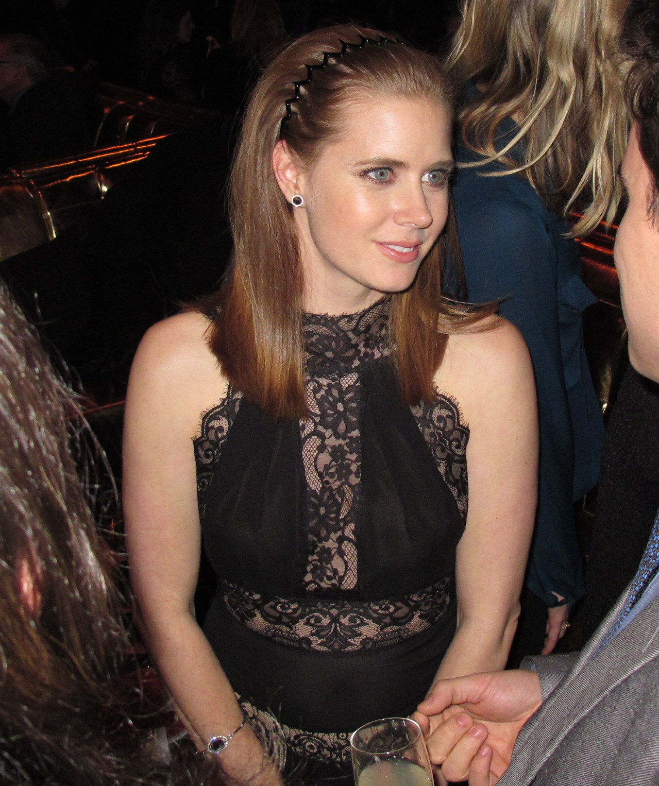 Amy Adams + American Hustle + premiere + New York