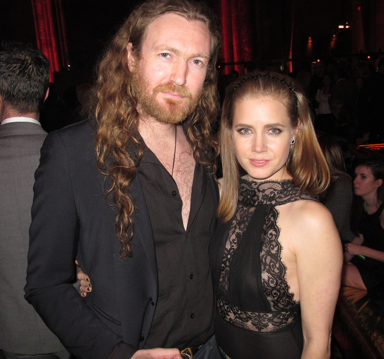 James Huddleston + Amy Adams + American Hustle + premiere