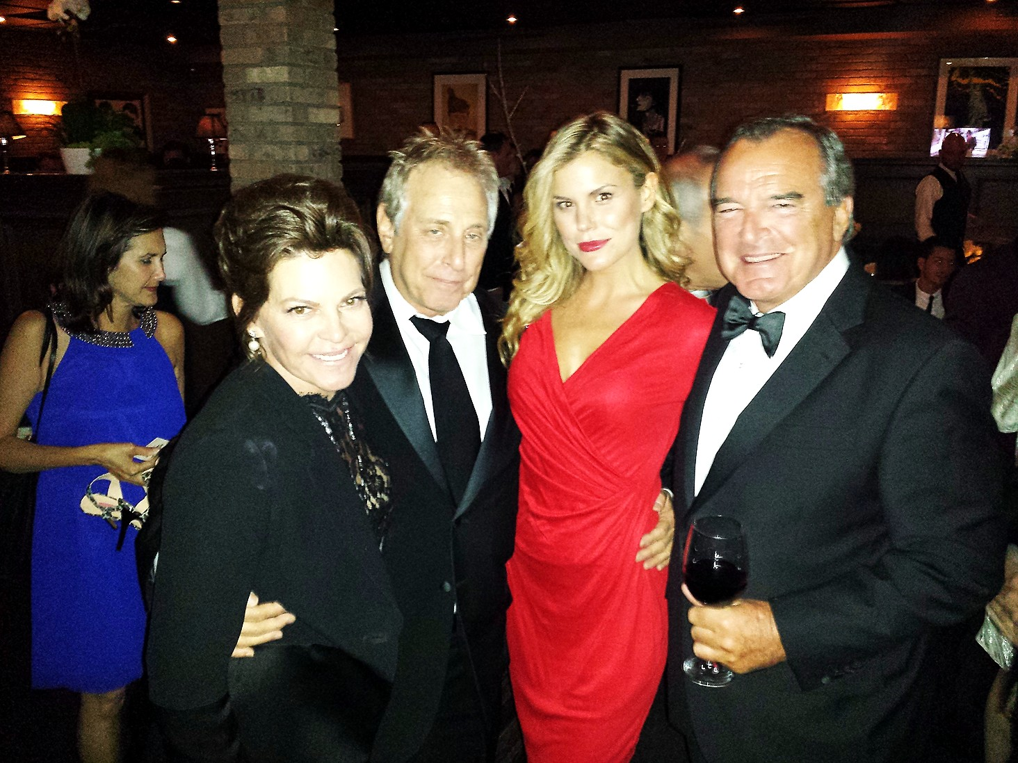 Stephanie Haymes + Charles Roven + Rosalind Lipsett + Sony After Party + Golden Globes + Craig's