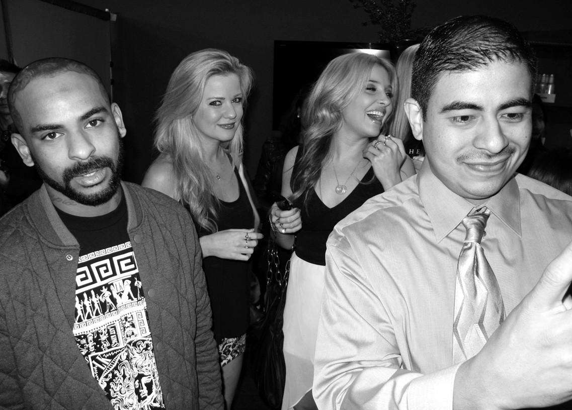 Paris Hilton + Pre Grammy Party