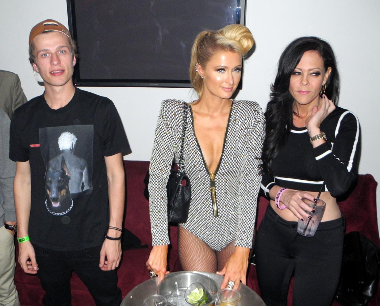Paris Hilton + Pre Grammy Party + Conrad Hilton