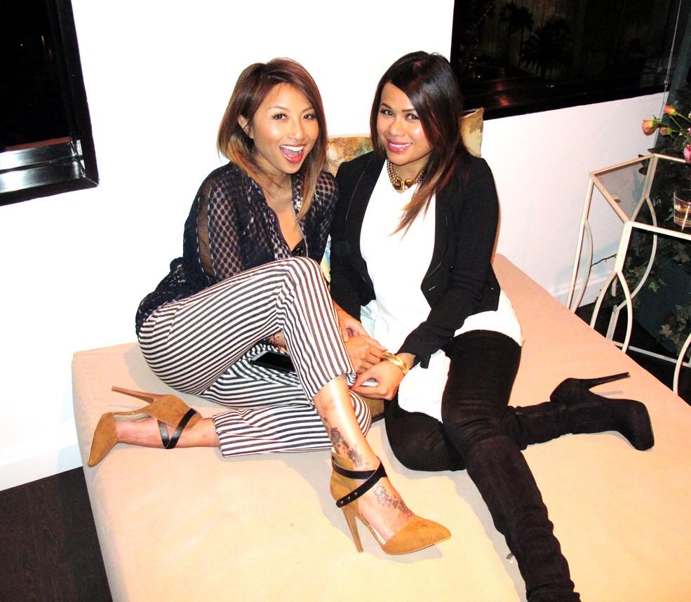 Jeannie Mai + Vogue Eyewear + CFDA
