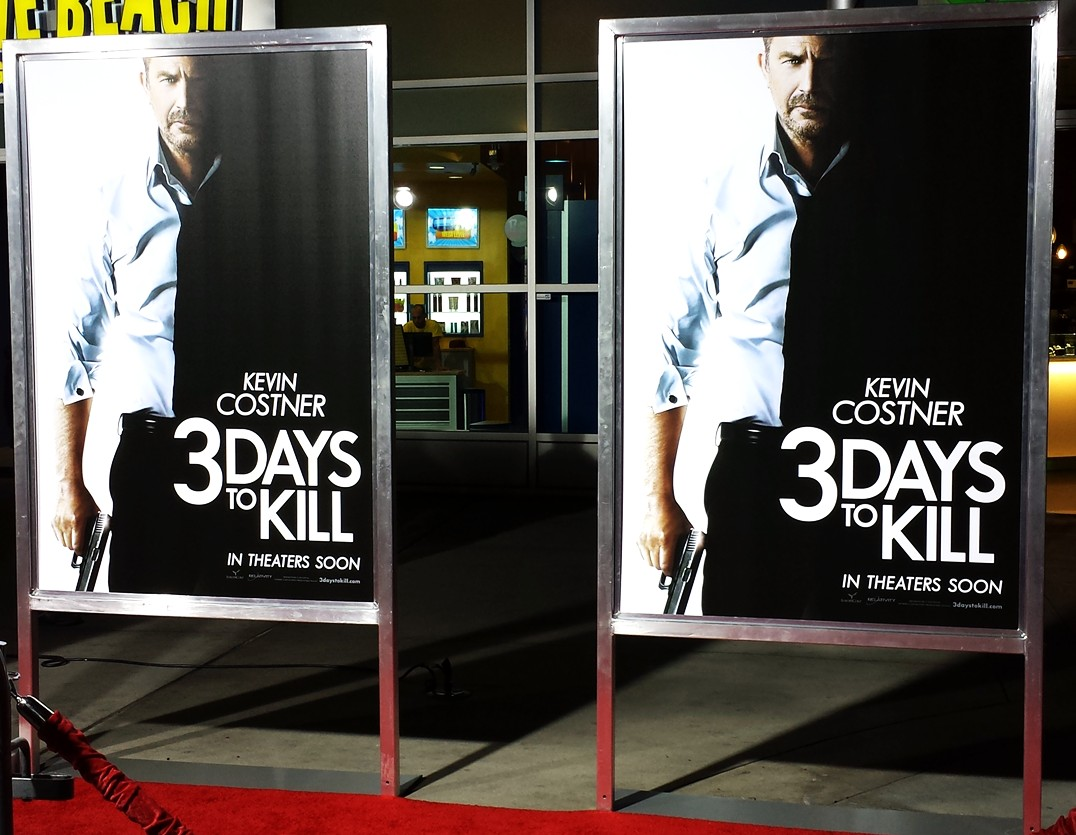 3 Days to Kill + Premiere + After + Party