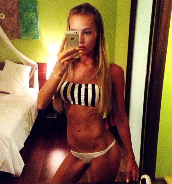 Olya Abramovich bikini