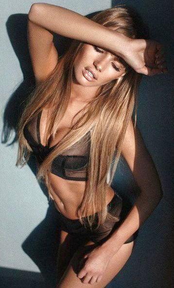 Olya Abramovich lingerie dark