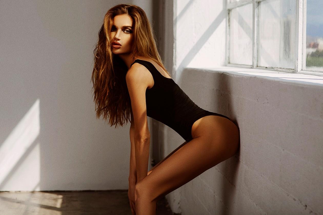 Natasha Galkina lingerie
