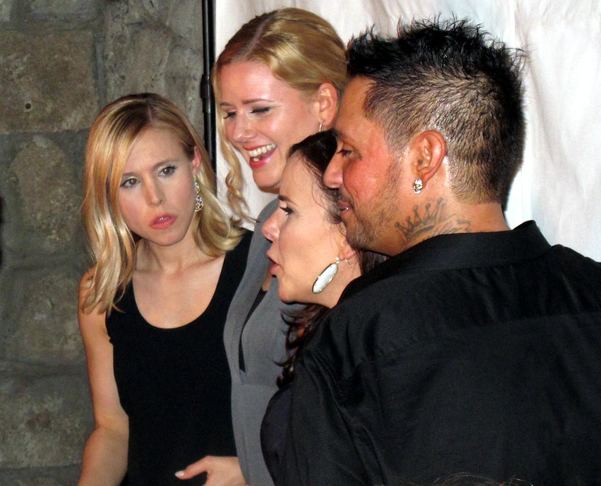 Kristen Bell + Francis Capra + Veronica Mars Premiere Party