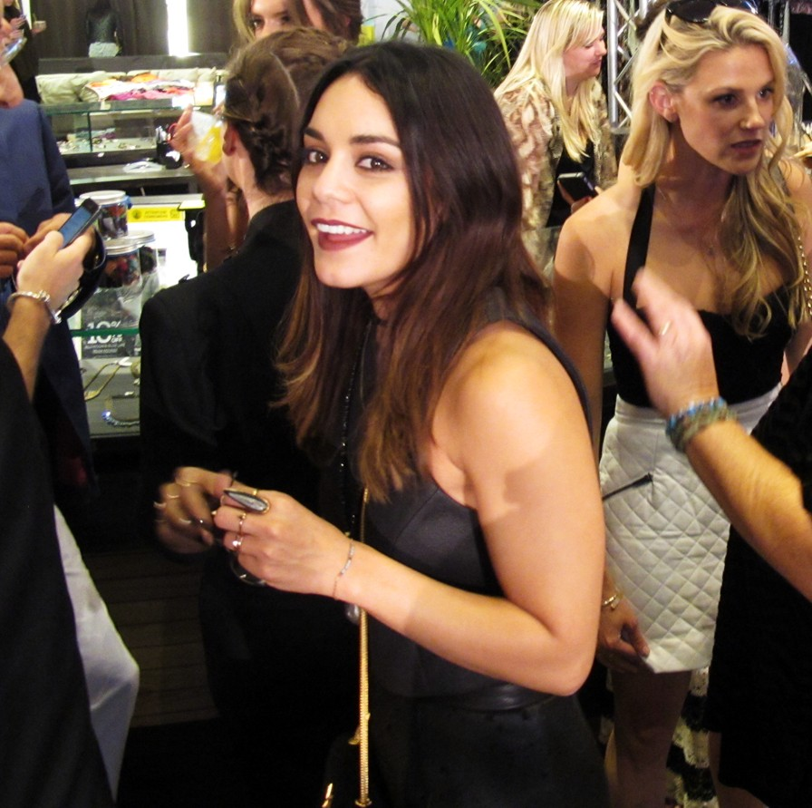 Vanessa Hudgens + ALE BY ALESSANDRA AMBROSIO LAUNCH AT PLANET BLUE