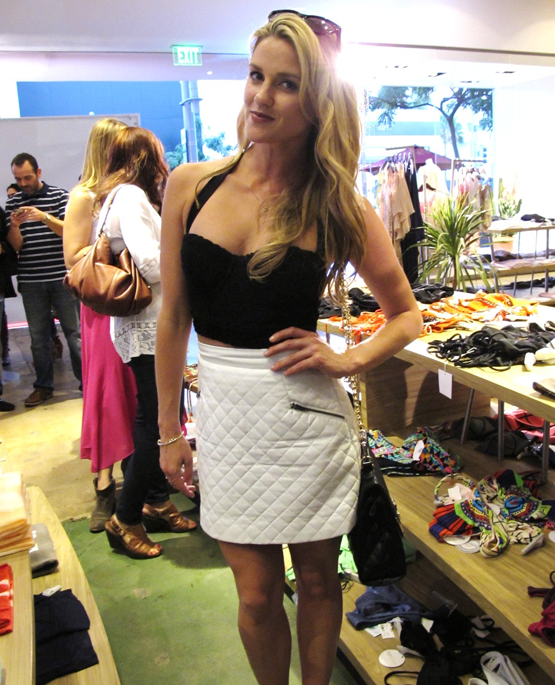 ALE BY ALESSANDRA AMBROSIO LAUNCH AT PLANET BLUE