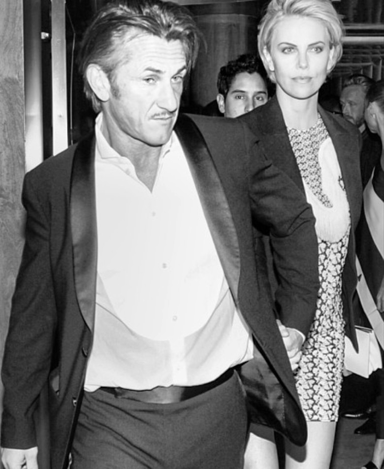 Sean Penn + Charlize Theron + Met Gala After Party
