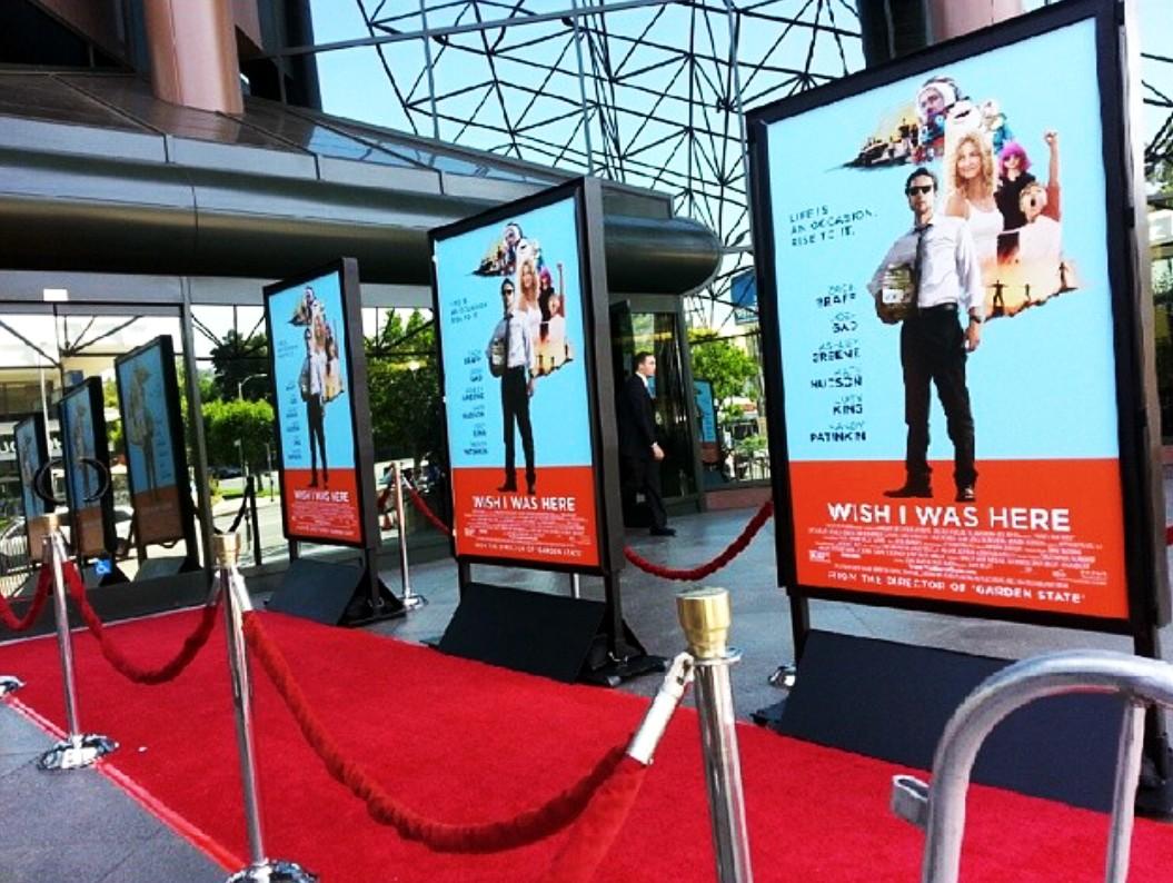 Wish I Was here + Movie Premiere