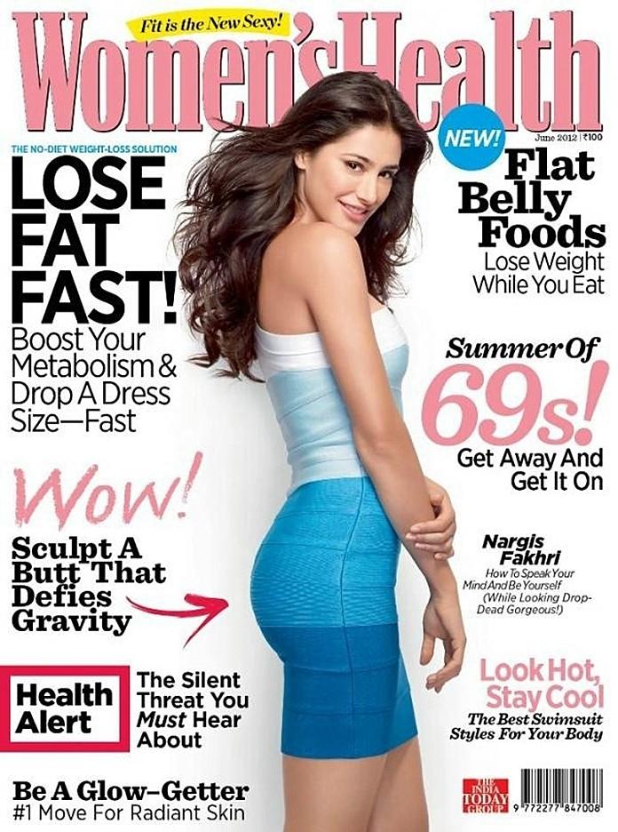 Nargis-Fakhri-Women-Health-Magazine-Cover-2012