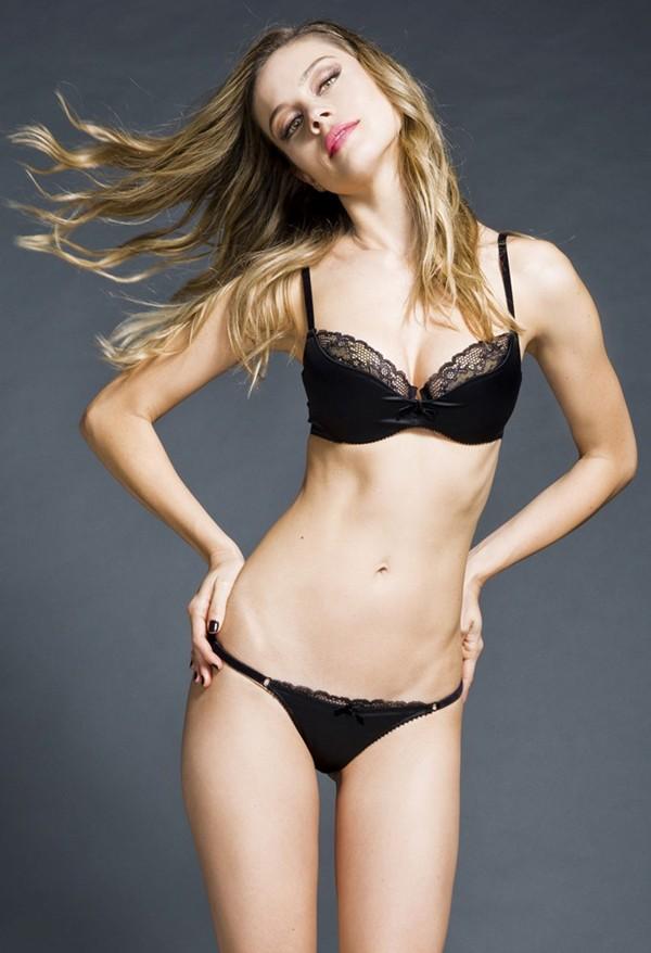 Patricia Beck black lingerie