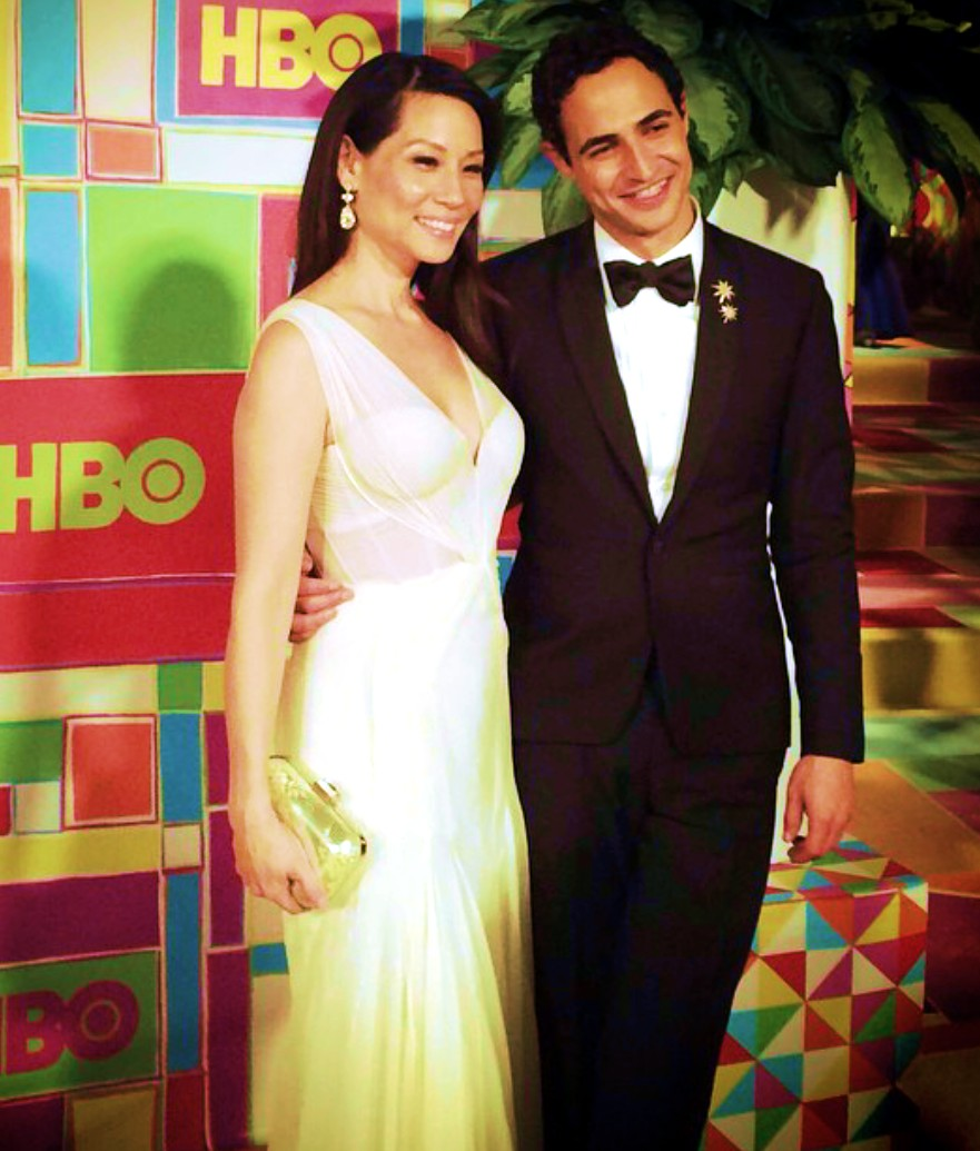 HBO-Emmys-party-Lucy-Liu-Zac-Posen