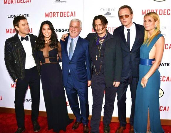 Mortdecai, Ewan McGregor, Olivia Munn, Johnny Depp, Paul Bettany, Gwyneth Paltrow