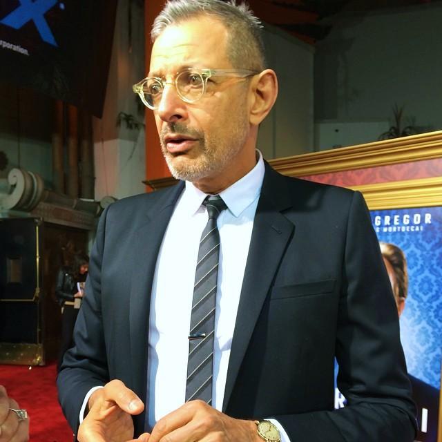 Mortdecai, Jeff Goldblum