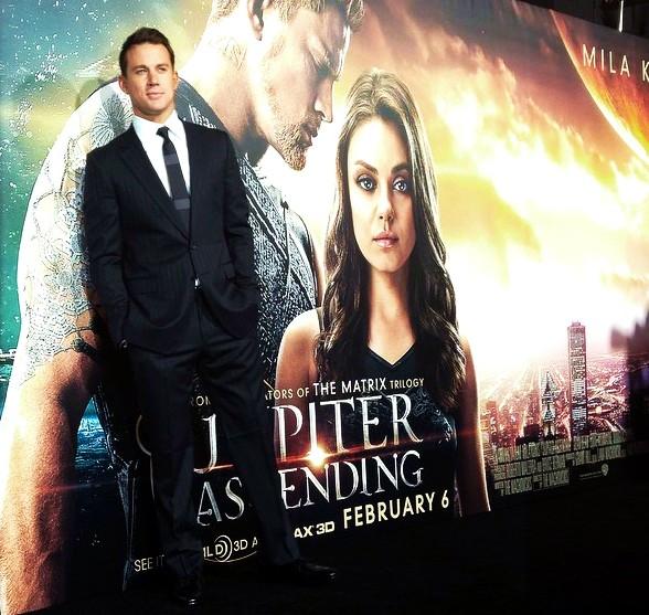 Jupiter Ascending, Channing Tatum, movie, premiere