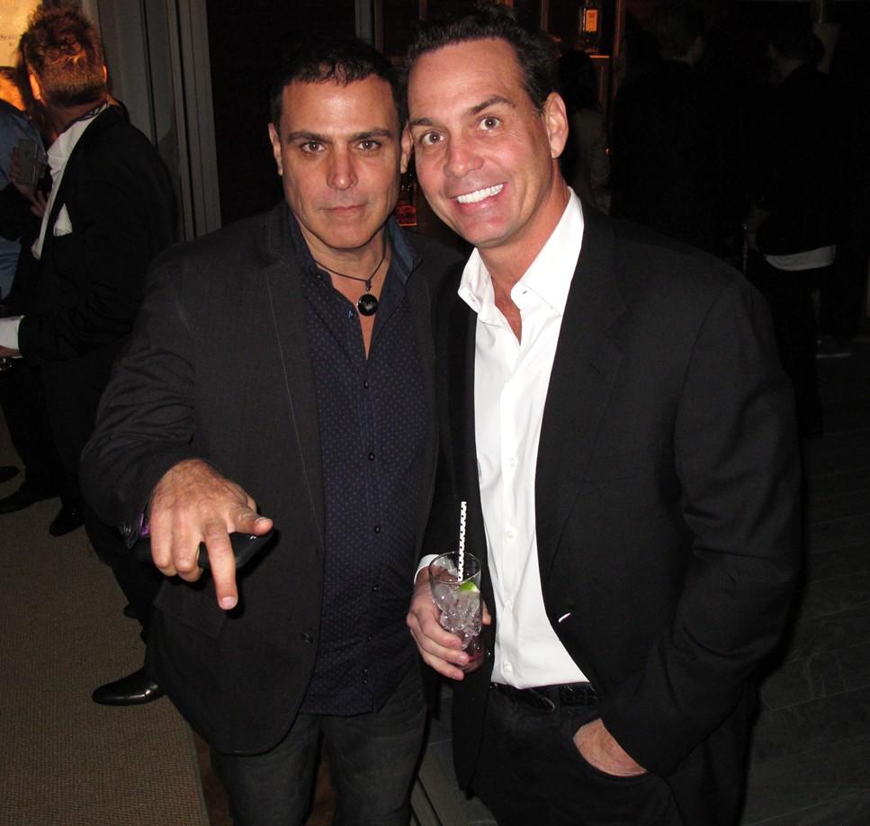 Treats Oscar party, Amir Benesh, Bob Zangrillo